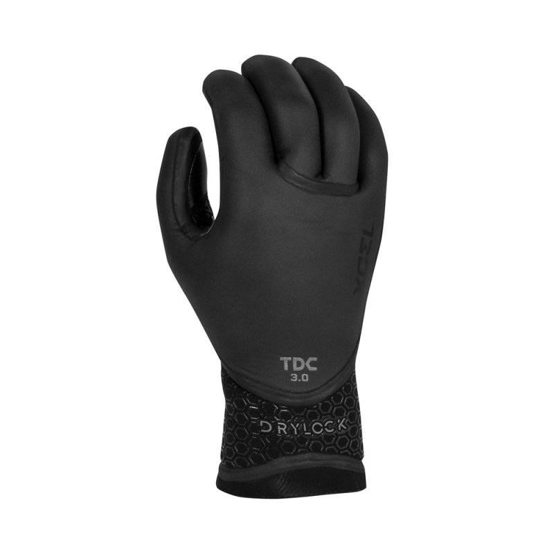 XCEL DRYLOCK TDC 5-FINGER GLOVE 3MM, 5MM