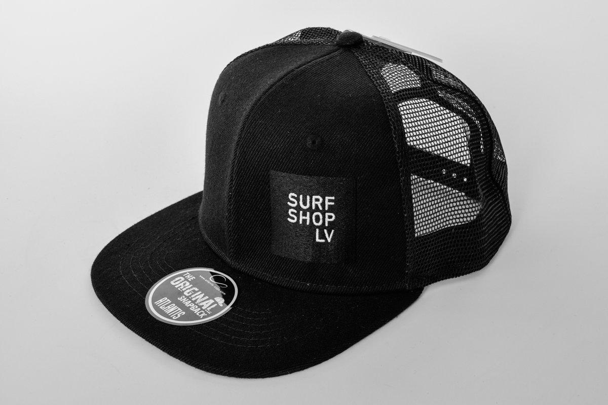 SURFSHOP.LV cepure ar tīkliņu, logo izšūts