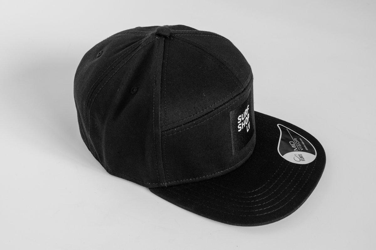 SURFSHOP.LV cepure 7 paneļu, logo izšūts