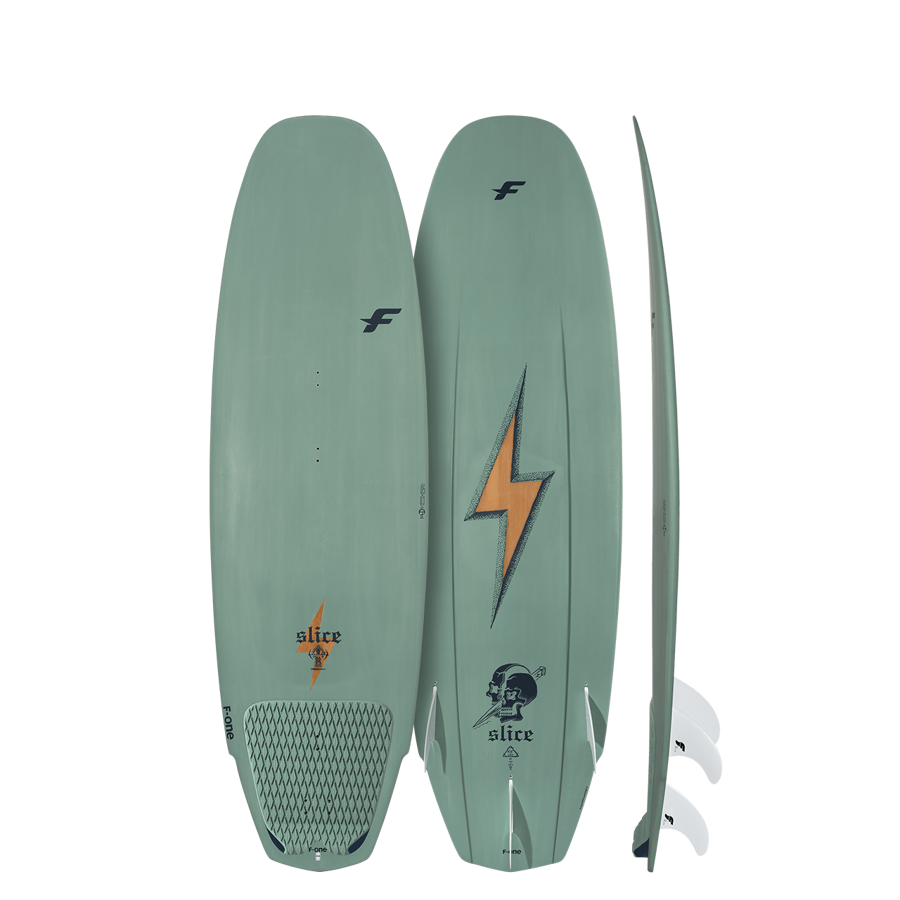 F-ONE Front Pad - SLICE BAMBOO